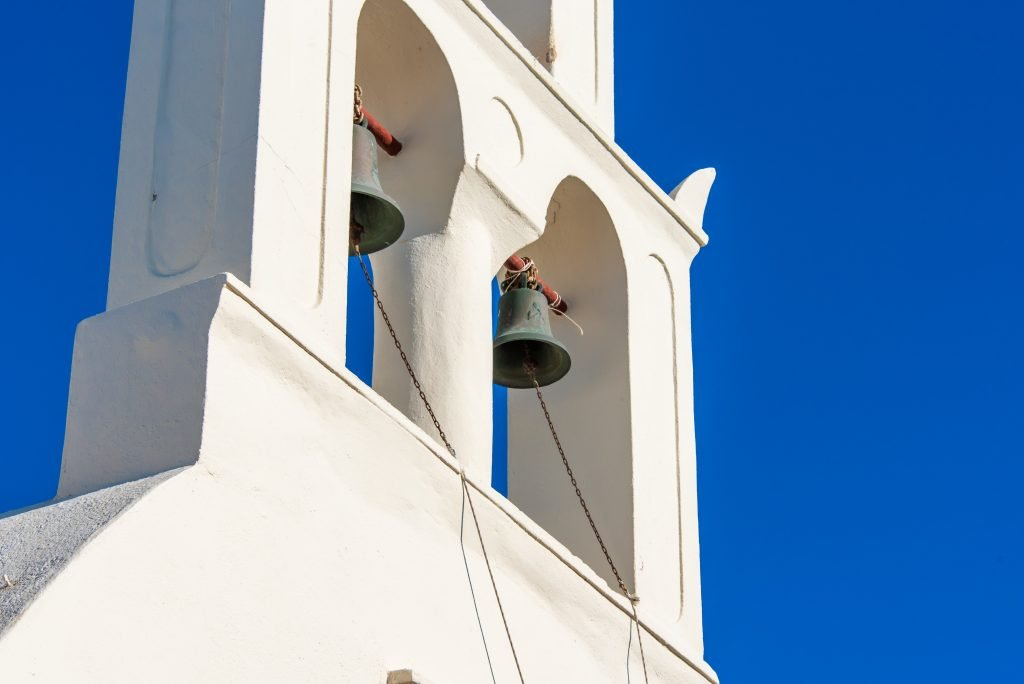 cathedral bells mark time