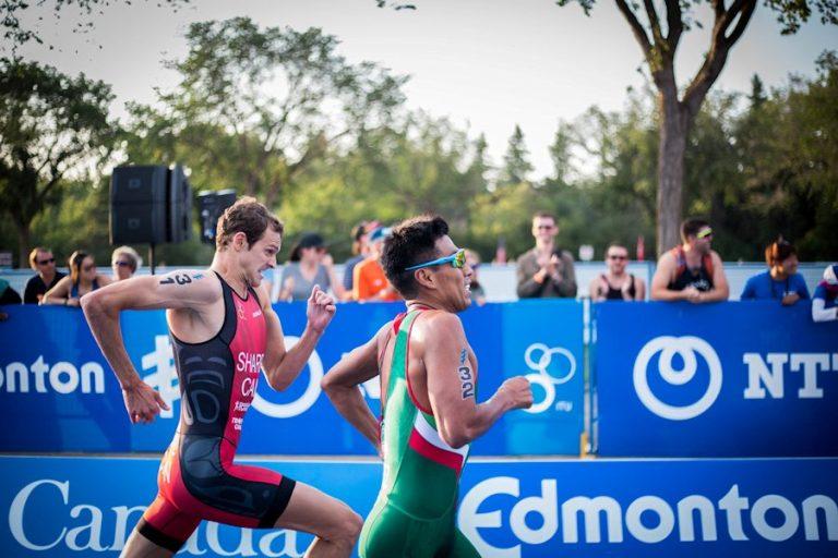 pressing forward in race