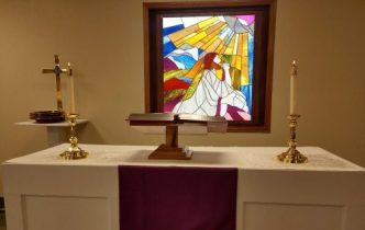 Grace Lutheran altar